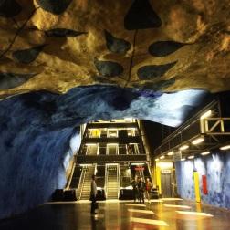 Stockholm: underground